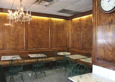 EAB 1st Ave Original Location Dining Room